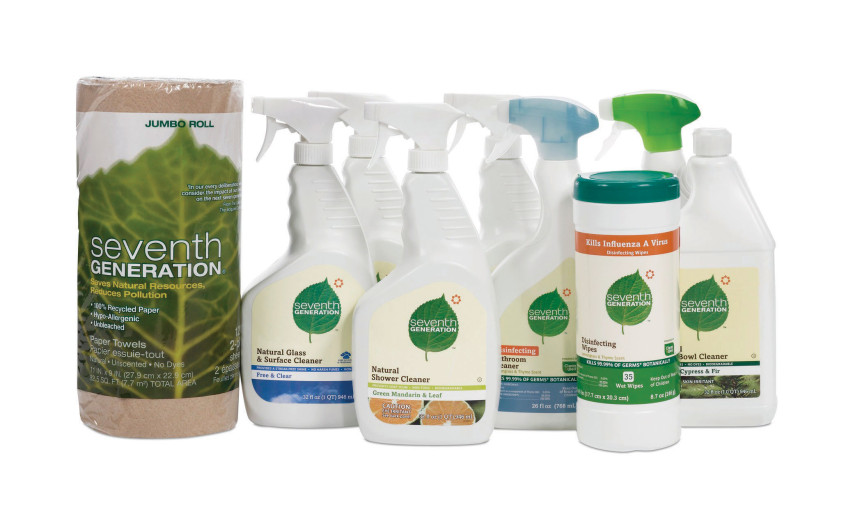 #2 Eco-Friendly cleaning products